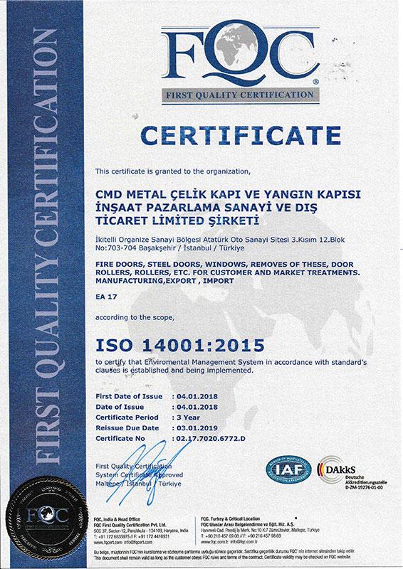 CMD ISO 14001