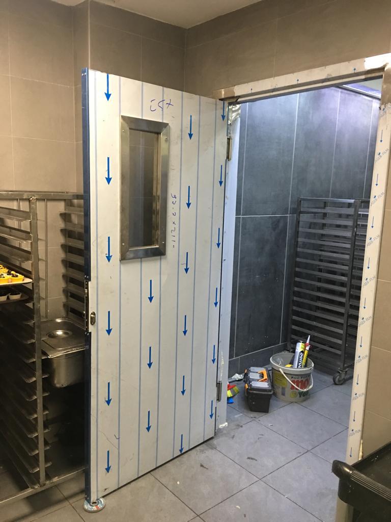 inox teksas menteseli kapı