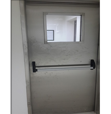 Glass Single Wing Stainless Door